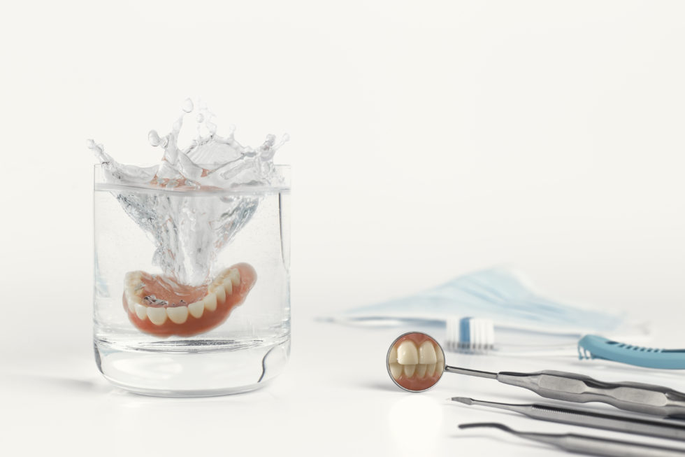 Why You Shouldn't Sleep With Your Dentures In.